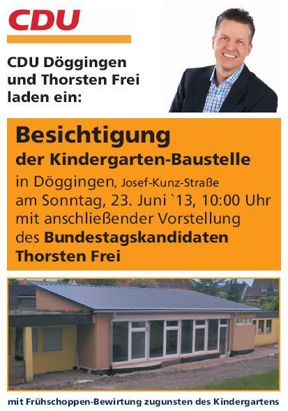 CDU Döggingen - Thorsten Frei